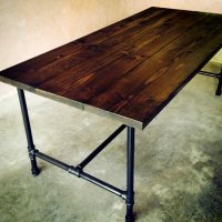The Jerry Kitchen Table - Handmade Wood from TheRumRoom on ...
