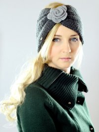 Winter Accessory Knit Headband Head Wrap from Oleel on Etsy