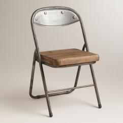 Steel Chair Cost Cushions For Rocking Wood And Metal Colton Folding Chairs Set From Plus World