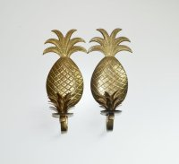 Vintage Brass Pineapple Candle holders from JudysJunktion ...