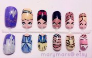 disney princess nail art marymars