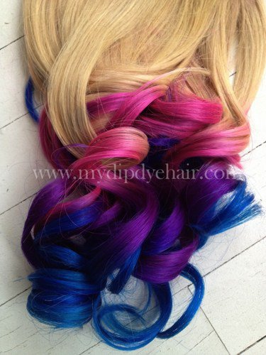 Ombre HairTie Dye HairBlonde Hair From Ombrehair On Artfire