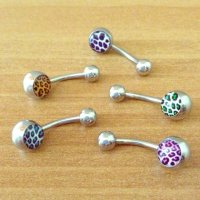 Cheetah Print Belly Button Rings from Poshmark