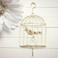 Shabby Chic Bird Cage Decor / Bird Cage from Willows Grace