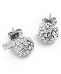 COACH HOLIDAY PAVE STUD EARRINGS - from Macys