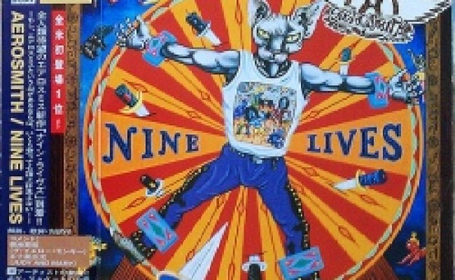 Nine Lives Japan Bonus Tracks Aerosmith Release Info