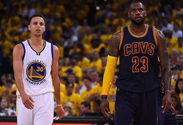 Image result for lebron james and steph curry