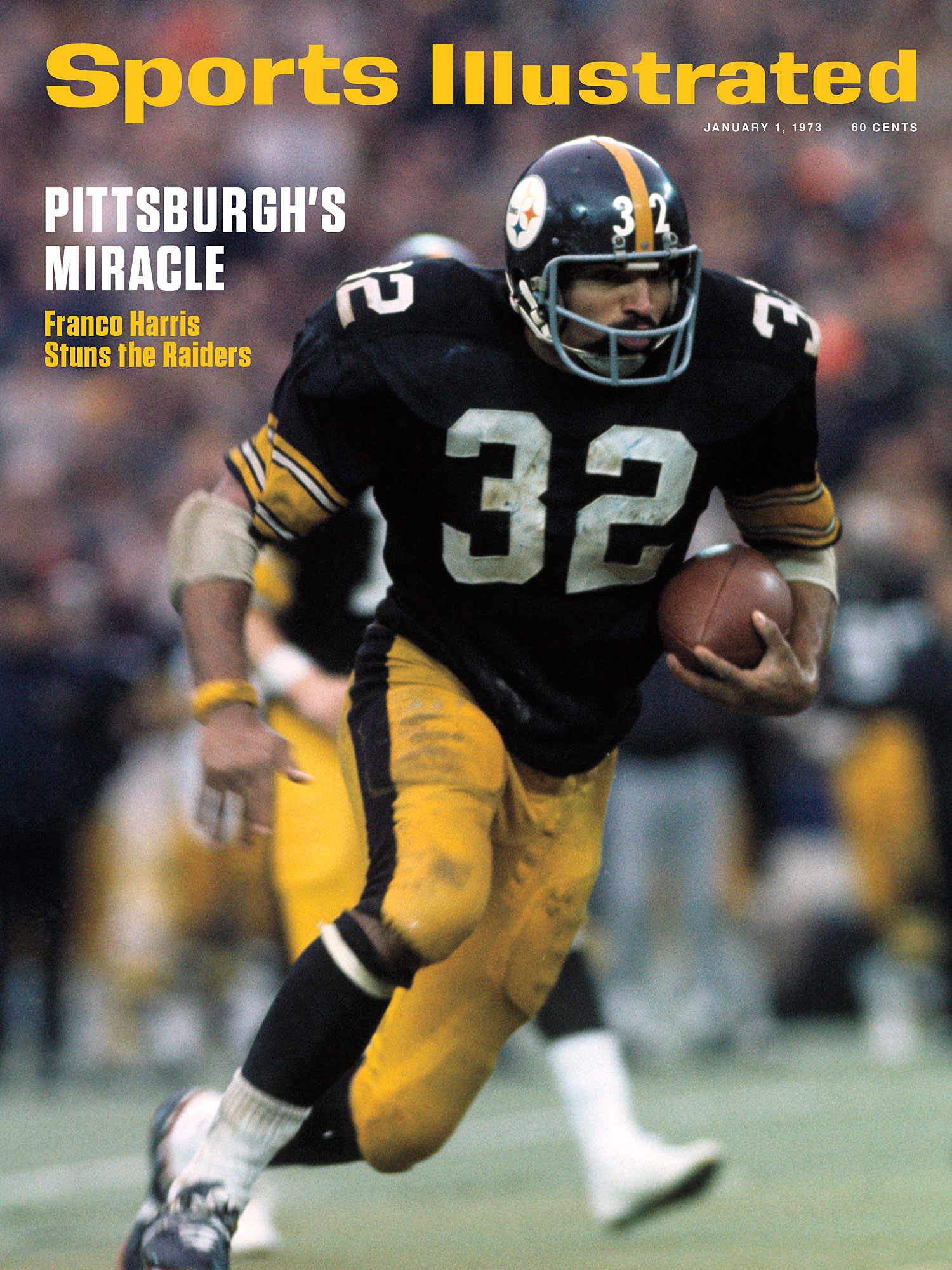 Franco Harris the Immaculate Reception and the SI cover that never ran  Vault