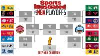 CRAZY COOL GROOVY!!!: 2017 NBA PLAYOFFS BRACKET + ROUND 1