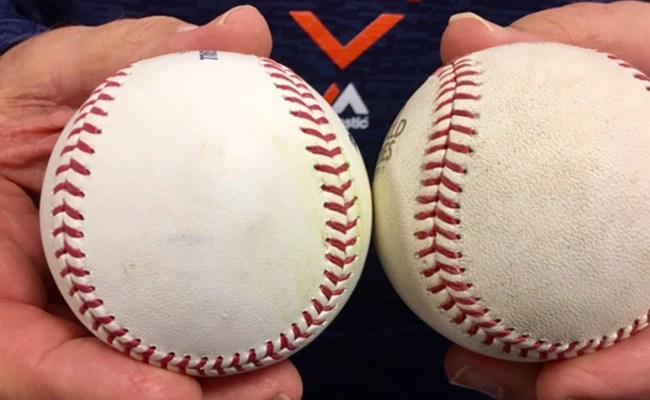 Special Slicker Baseballs Hurting World Series Pitchers