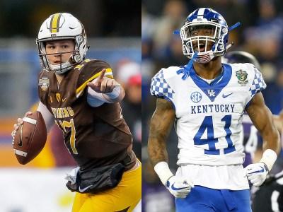 Josh Allen: Kentucky LB on NFL draft buzz, Bills QB of ...