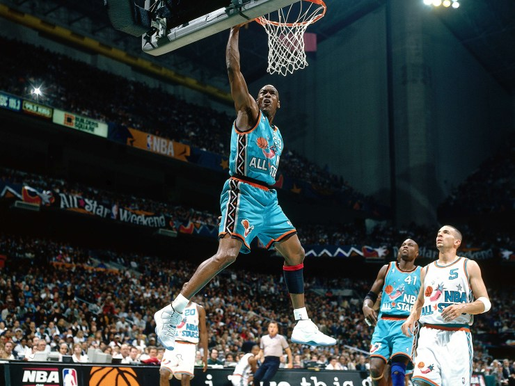 Michael Jordan dunks