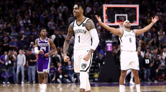 Watch: Nets Complete 28-Point Comeback vs. Kings Behind D'Angelo Russell's Big Fourth Quarter