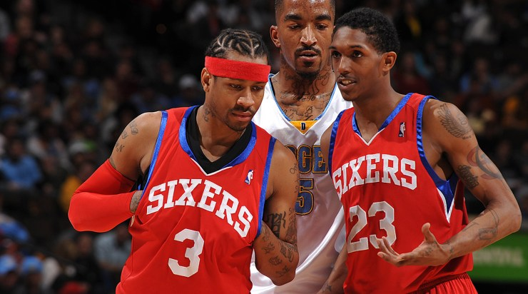 Philadelphia 76ers v Denver Nuggets