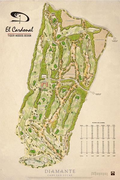 tiger woods open scorecard