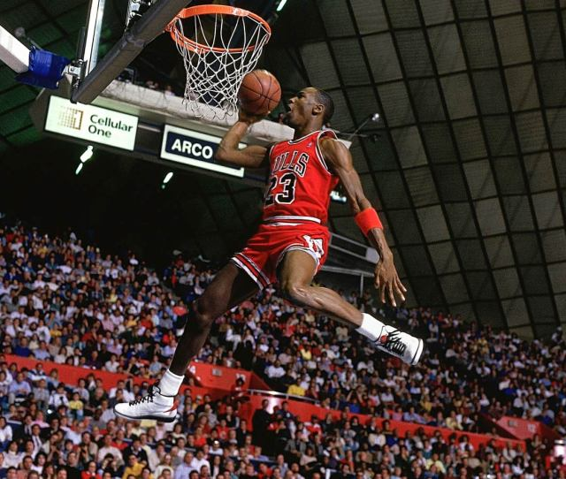 Jordan Won His First Dunk Contest In A Competition Missing The Previous Two Winners Dominique
