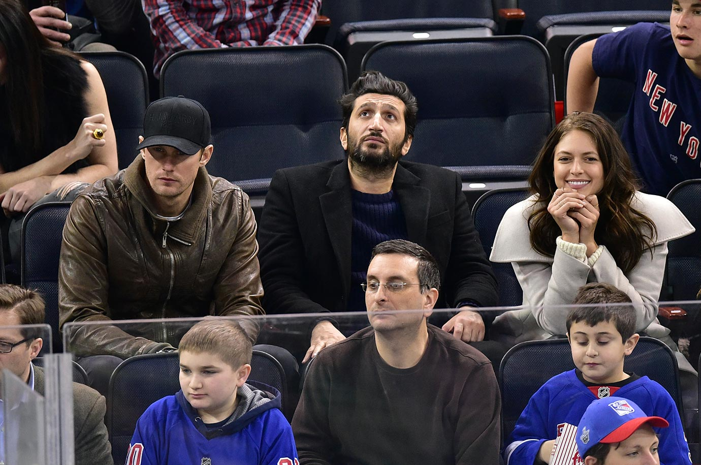 Celebrities At NHL Games 2014 15