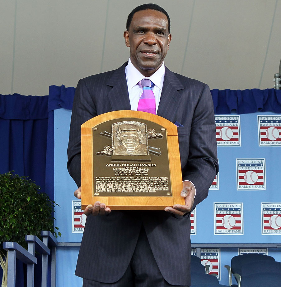 Image result for andre dawson hall of fame