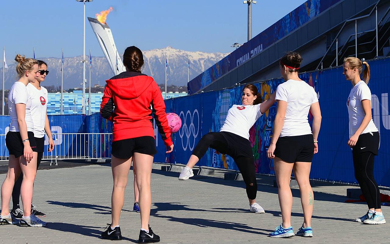 Scenes From Sochi Olympics