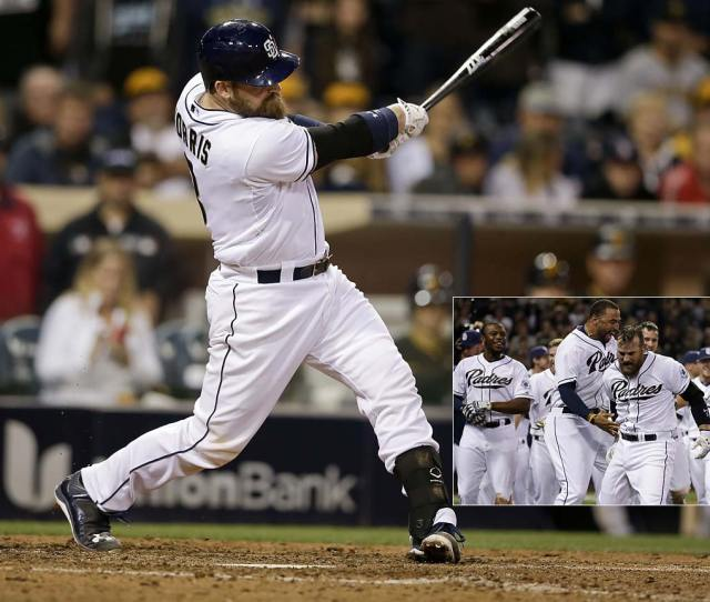 Derek Norris Redeemed Himself After Four Strikeouts When He Blasted A Grand Slam In The Ninth