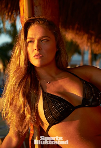 It's official! Ronda Rousey will wear body paint in SI ...