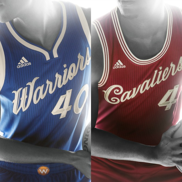 new style 36752 9b786 Cavs Warriors Christmas Day Uniforms | Thecannonball.org