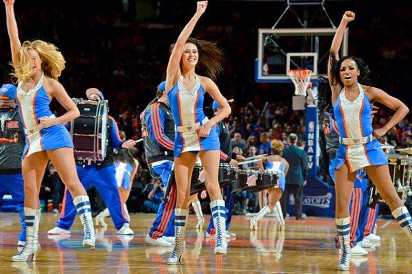 NBA Playoffs Dancers and Cheerleaders SIcom