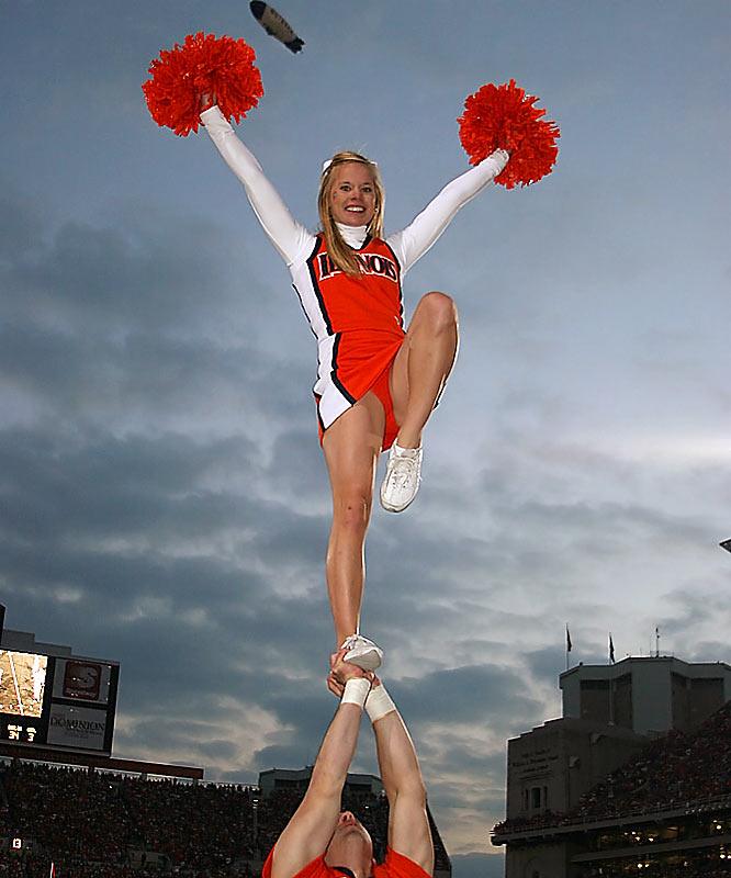 Cheerleading Scorpion Slip