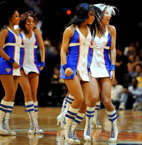 New York Knicks City Dancers SIcom