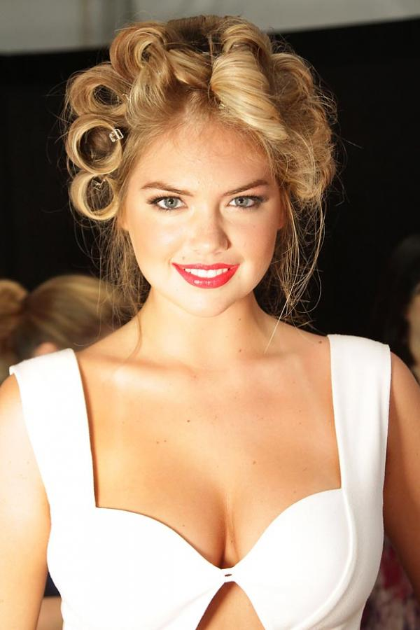 Fantastic! Kate Upton's Wedding Hairstyle — Expert Tips On Wearing Your Hair Down On Your Wedding Day