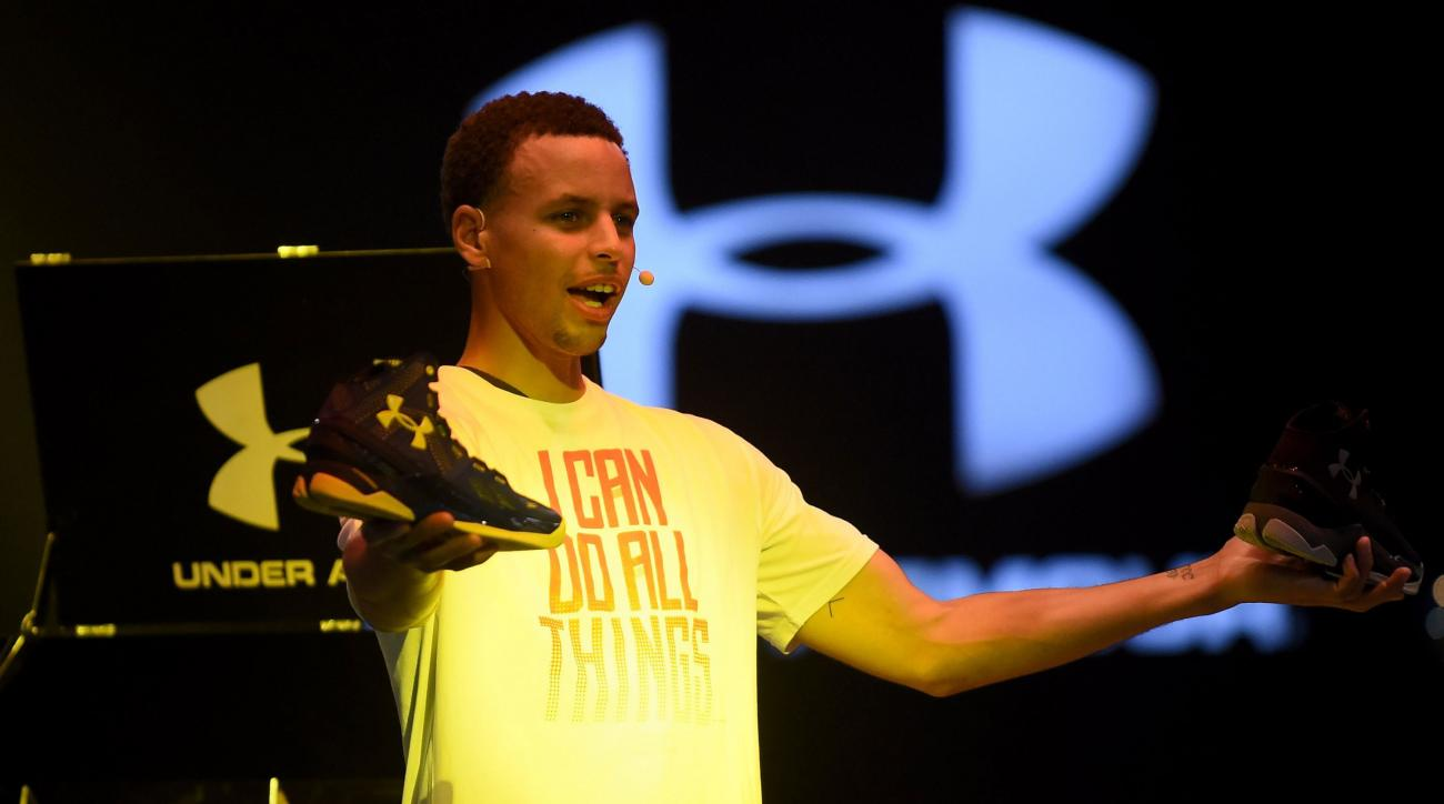 Stephen Curry Under Armour Contract Extended Through 2024