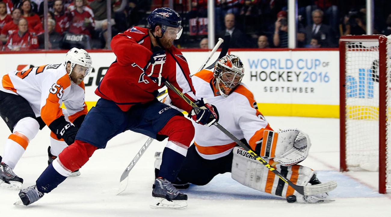 Flyers Stay Afloat In Playoffs Beat Capitals To Force