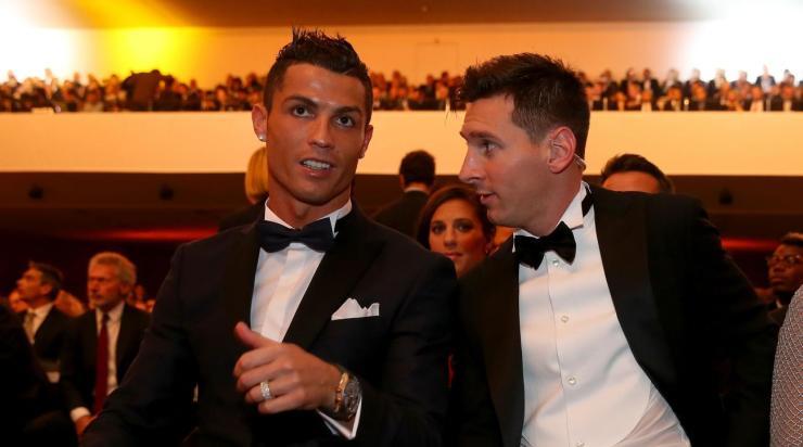Image result for Lionel Messi, Cristiano Ronaldo