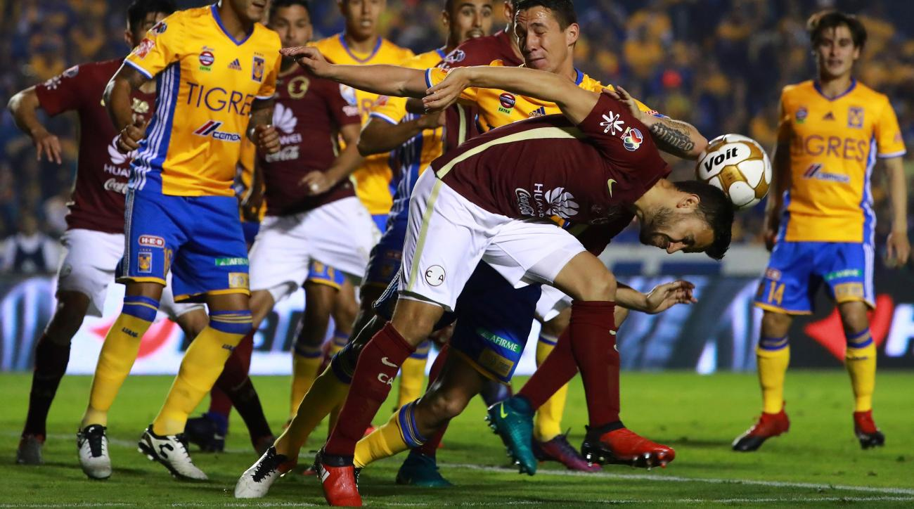 Brawl In Liga Mx Final Between Tigres Club America Video