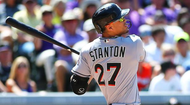 Image result for giancarlo stanton 2017