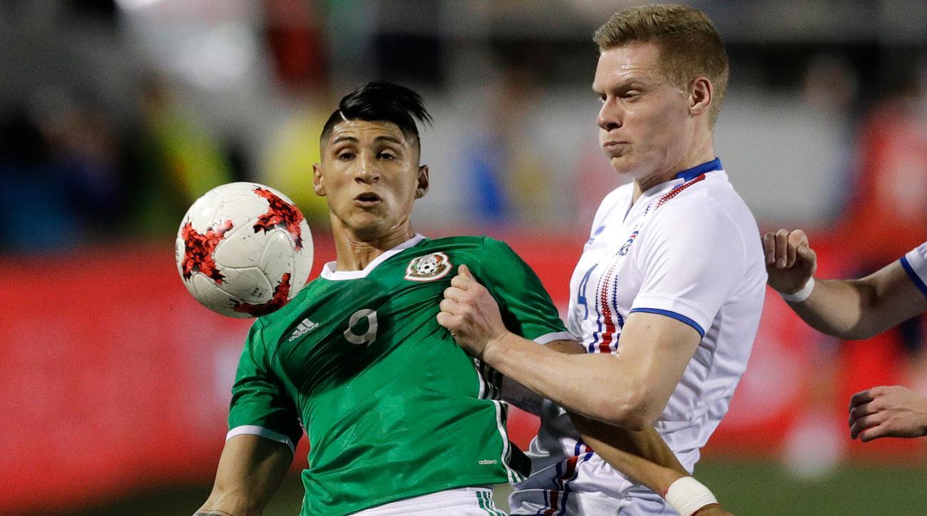 Mexico Vs Iceland Alan Pulido Scores El Tri S Winner