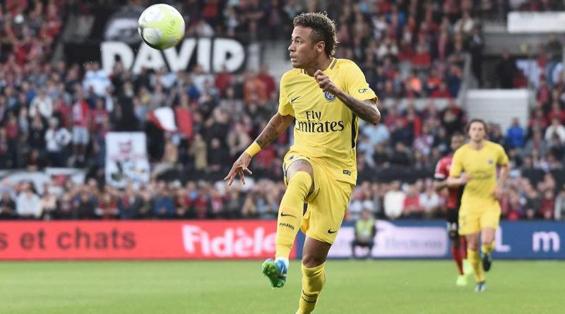 Watch Neymar Scores Notches Assist On Debut For Psg Against Guingamp