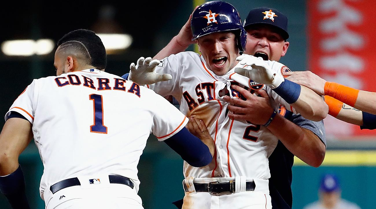 Who won World Series Game 5 last night Astros vs Dodgers