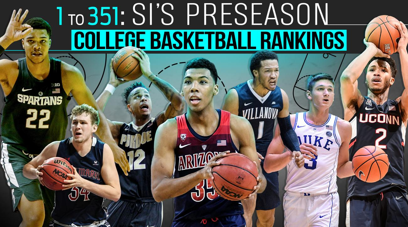 College Basketball Rankings All 351 Division I Teams Si