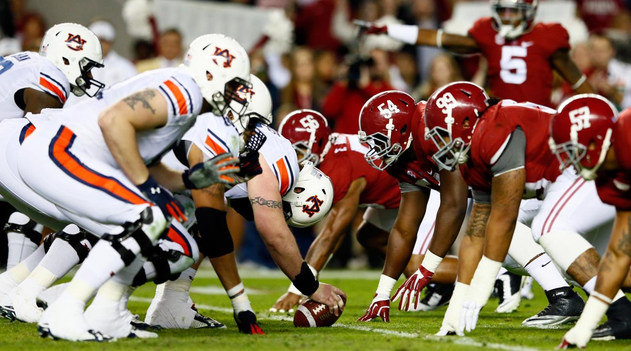 Why Is It Called The Iron Bowl Alabama Vs Auburn Si
