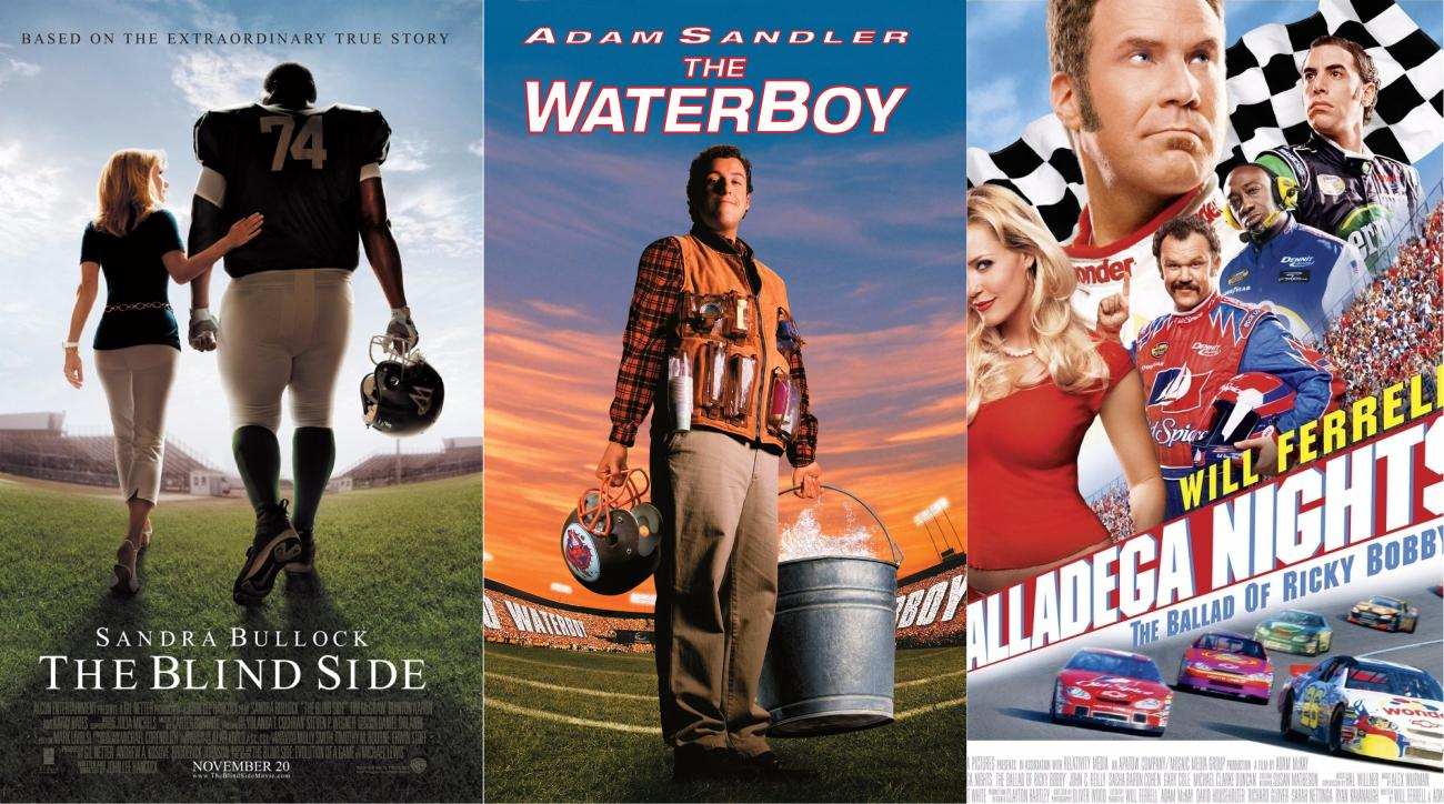 Best sports movies ever Top 10 by box office money SIcom