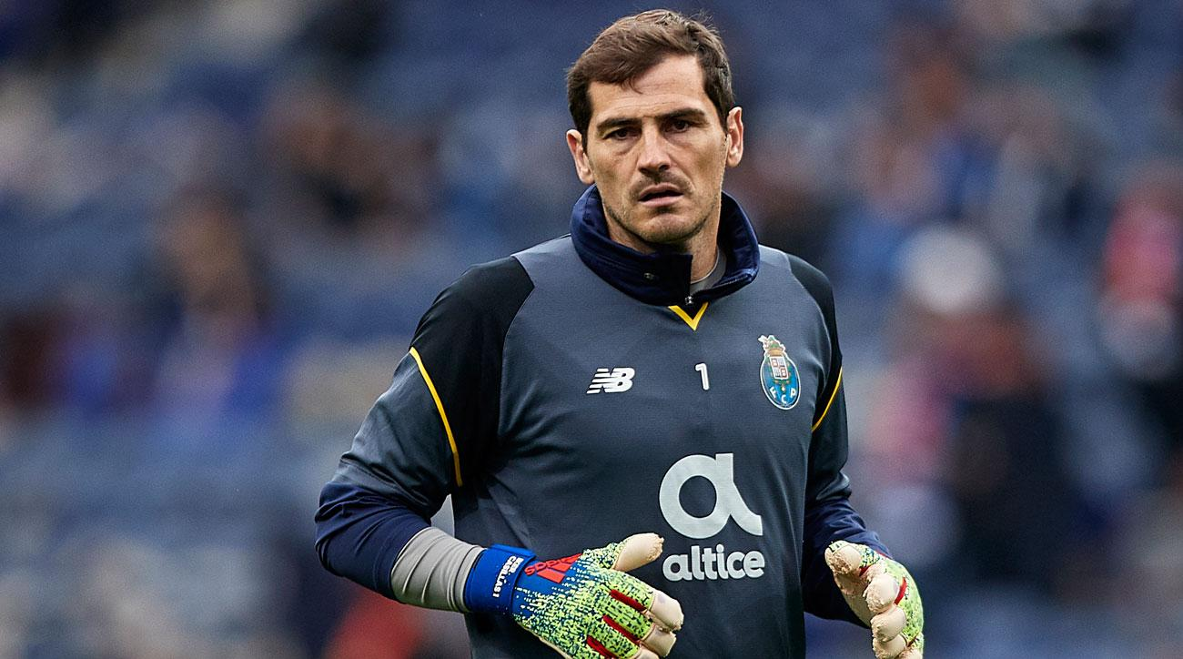 Iker Casillas Doctor Says Too Early To Know If He Ll Play