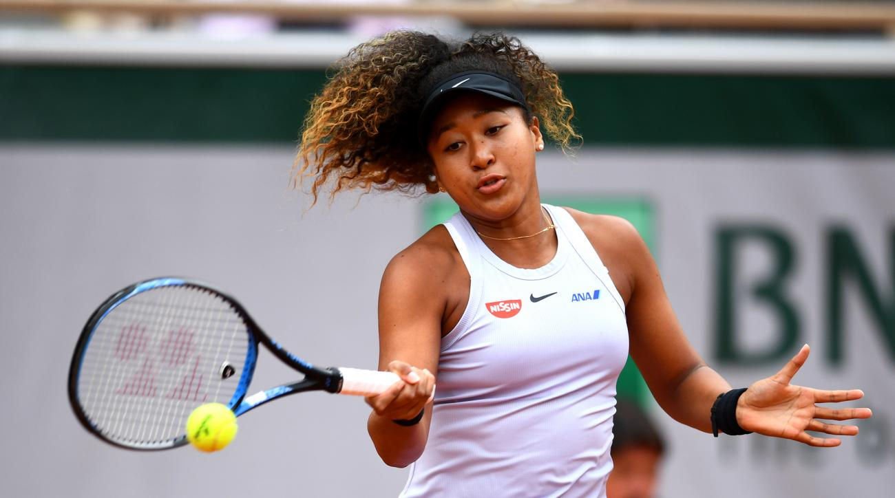 French Open Naomi Osaka Comes Back To Defeat Schmiedlova
