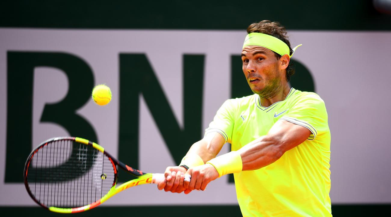 Roland Garros Rafael Nadal Moves Into Third Round At