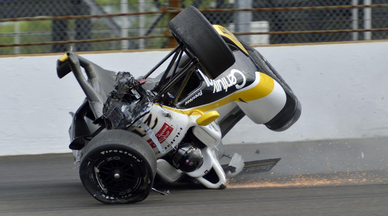 Indianapolis 500 History The Worst Crashes Si Com
