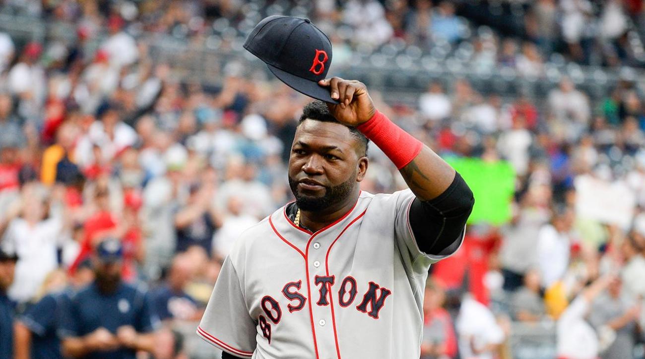 David Ortiz retirement ceremony Red Sox tribute video  SIcom