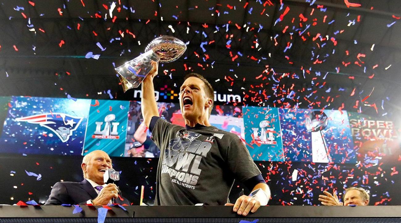 Image result for patriots super bowl falcons podium
