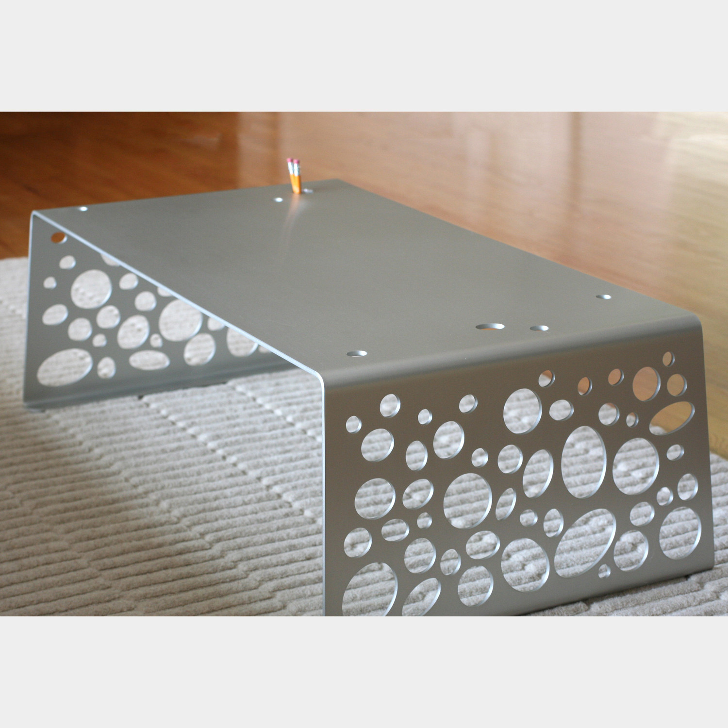 Float Aluminum Coffee Table - Blueoculus Touch Of Modern