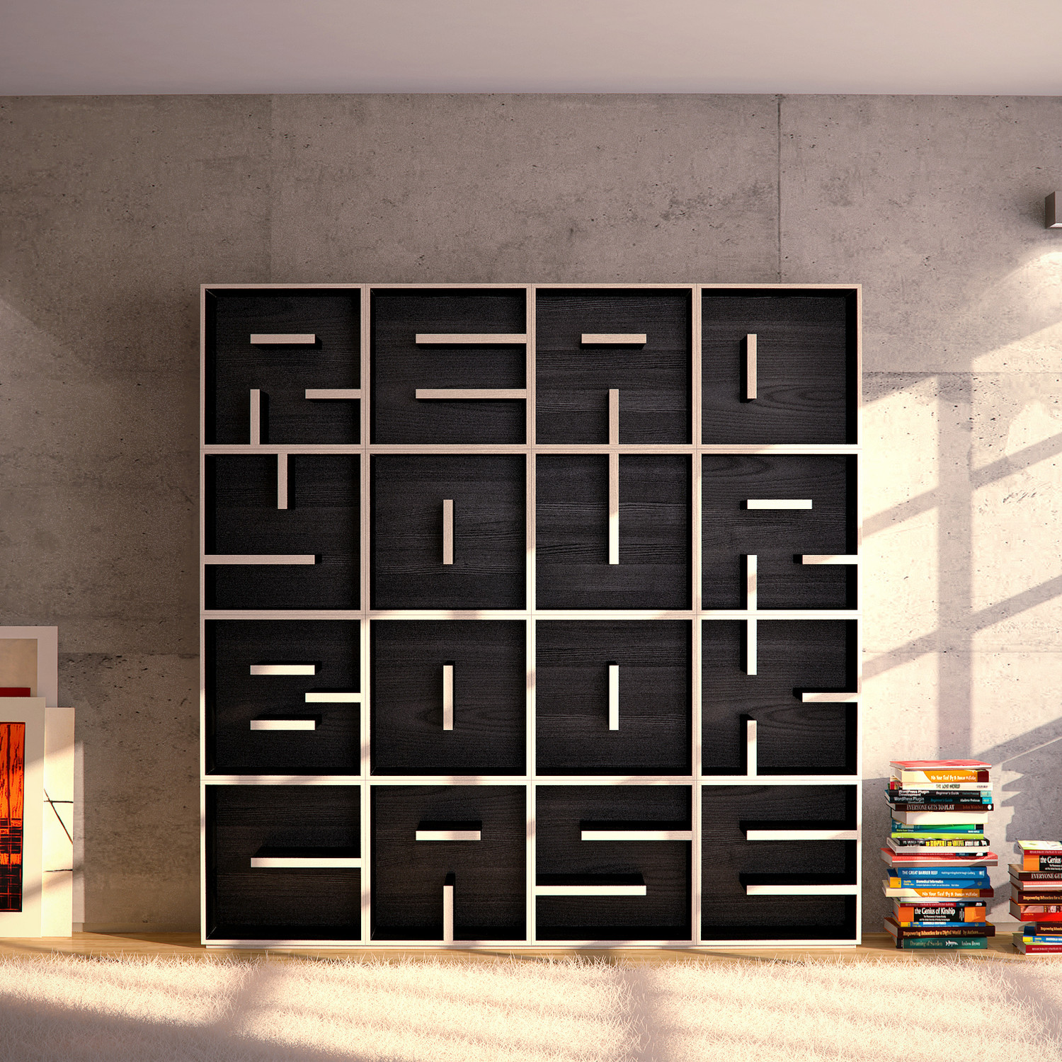 readyourbookcase - saporiti - touch of modern