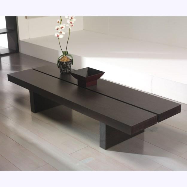 tokyo 180 low coffee table (white) - temahome living - touch of modern